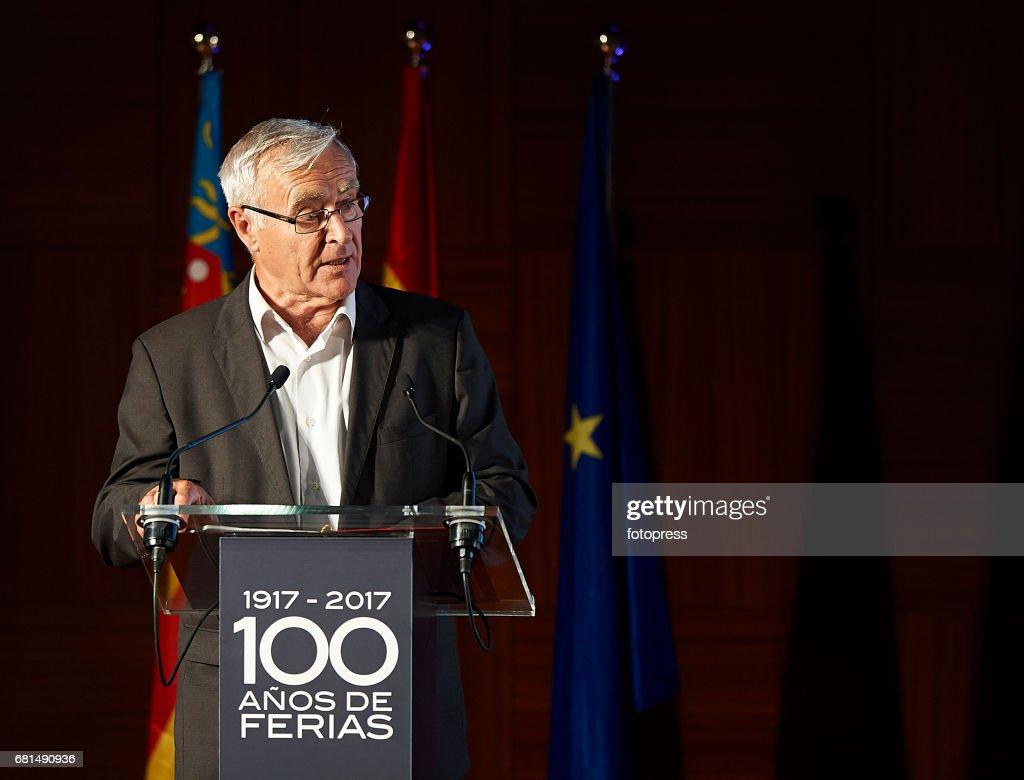 Mayor of Valencia Joan Ribo Attends The Celebration Of The Centenary Of Valencia's Fair Foundation on May 10, 2017 in Valencia, Spain.