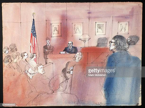Mayor Richard J. Daley on the Stand by Franklin McMahon