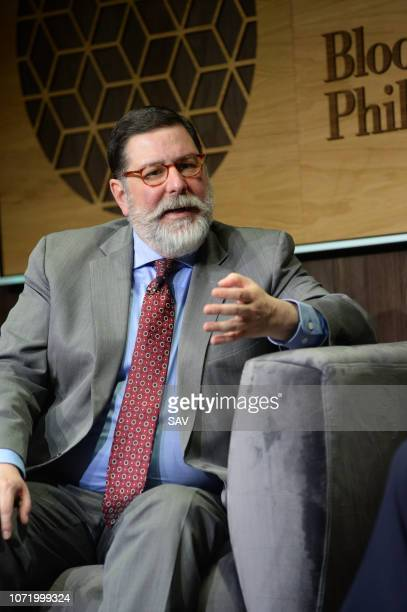 Mayor William Peduto of Pittsburgh during The Climate Change Conference held at Bloomberg London on December 12 2018 in London England