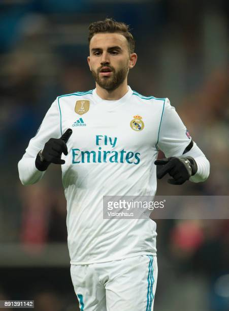 Mayoral of Real Madrid during the UEFA Champions League Group H match between Real Madrid CF and Borussia Dortmund at the Bernabeu Stadium on...