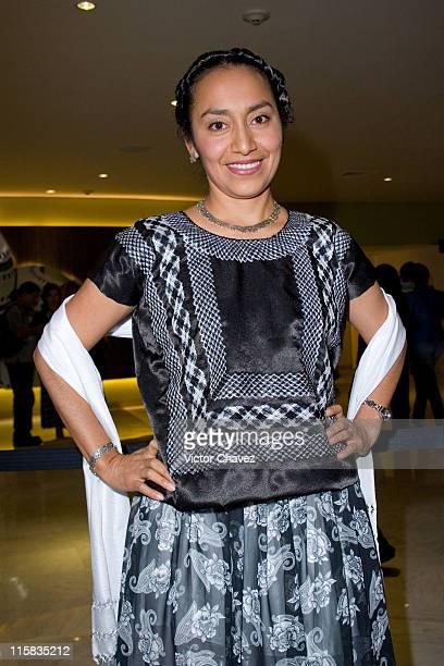 Mayra Serbulo during 'Apocalypto' Mexico City Premiere Photocall at Cinemex Plaza Antara in Mexico Mexico City Mexico