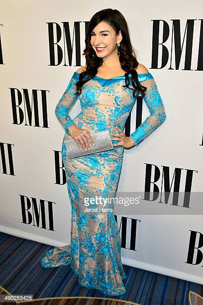 Mayra Vernica attends the 62nd Annual BMI Pop Awards at Regent Beverly Wilshire Hotel on May 13 2014 in Beverly Hills California