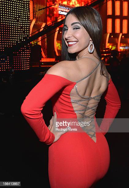 Mayra Veronica poses during the 2012 Person of the Year honoring Caetano Veloso at the MGM Grand Garden Arena on November 14 2012 in Las Vegas Nevada