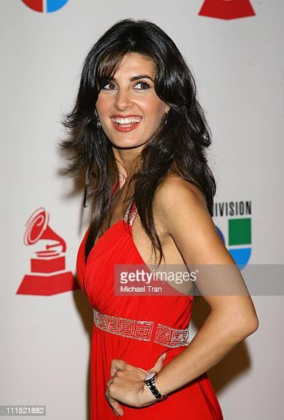 Mayrin Villanueva arrives at the 9th Annual Latin Grammy Awards held at Toyota Center on November 13 2008 in Houston Texas