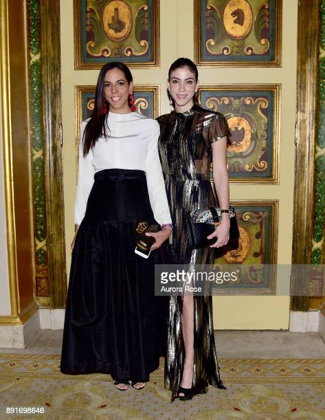 Mayte Allende and Alida Boer attend Casita's Fiesta 2017 at The Plaza Hotel on October 17 2017 in New York City