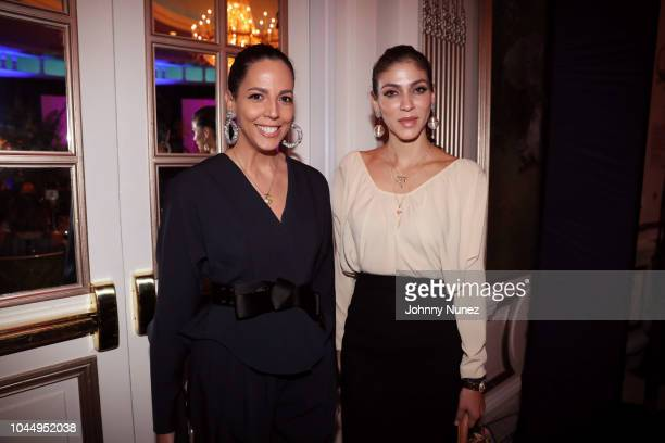 Mayte Allende and Alida Boer attend the 2018 BRAVO National Awards at Lotte New York Palace on October 2, 2018 in New York City.
