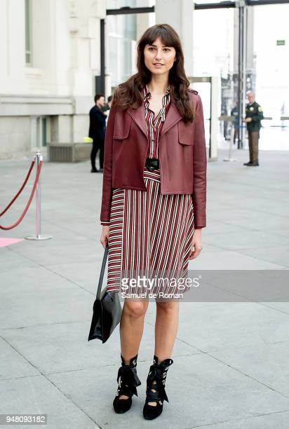 Mayte de la Iglesia attends Madrid Bridal Week 2018 Hannibal Laguna photocall on April 18 2018 in Madrid Spain