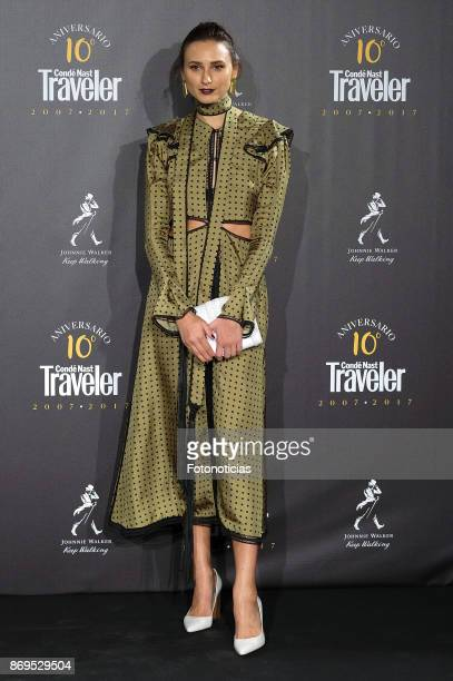 Mayte de la Iglesia attends the Conde Nast Traveler 10th anniversay party at the Santo Mauro Hotel on November 2 2017 in Madrid Spain