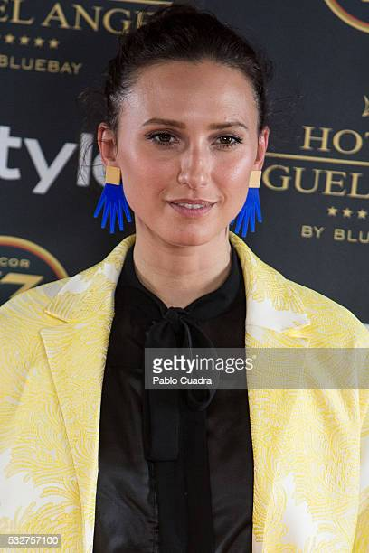 Mayte de la Iglesia attends the 'Live in Colors' photocall during the InStyle Beauty Day at the Miguel Angel Hotel Garden on May 19 2016 in Madrid...