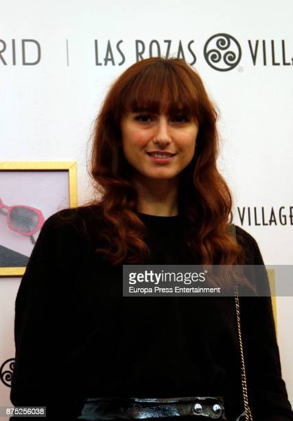 Mayte de la Iglesia attends the opening of the pop up boutique 'The Creative Spot Madrid' at Las Rozas Village on November 16 2017 in Madrid Spain