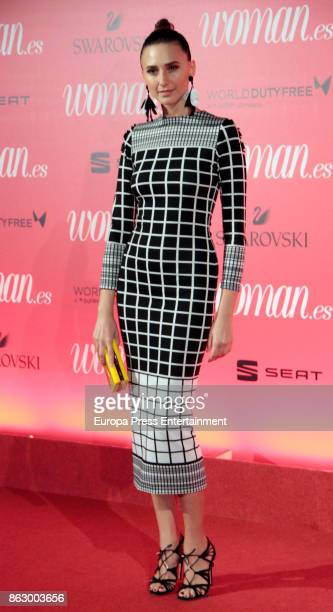 Mayte de la Iglesia attends the 'Woman 25th anniversary' photocall at Madrid Casino on October 18 2017 in Madrid Spain