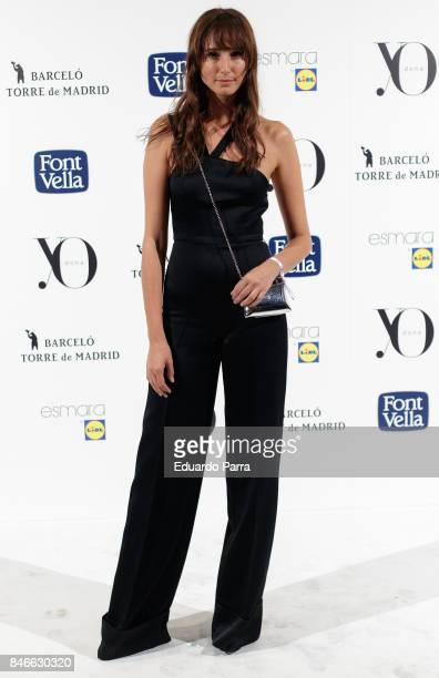 Mayte de la Iglesia attends the 'Yo Dona MBFW opening party' photocall at Barcelo hotel on September 13 2017 in Madrid Spain