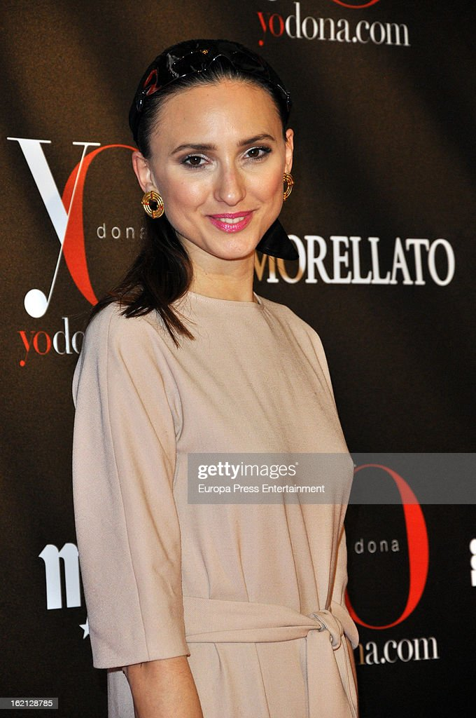 Mayte de la Iglesia attends 'Yo Dona' magazine mask party on February 18, 2013 in Madrid, Spain.