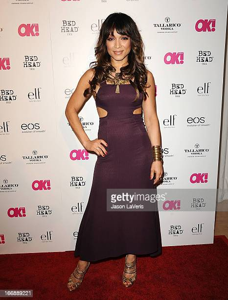 Mayte Garcia attends OK Magazine's annual 'So Sexy' party at SkyBar at the Mondrian Los Angeles on April 17 2013 in West Hollywood California