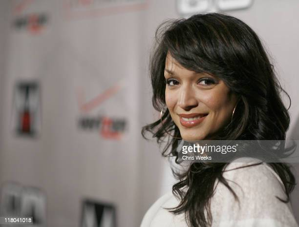 Mayte Garcia during Maroon 5 'It Won't Be Soon Before Long' Album Release Party at The Lot in West Hollywood California United States