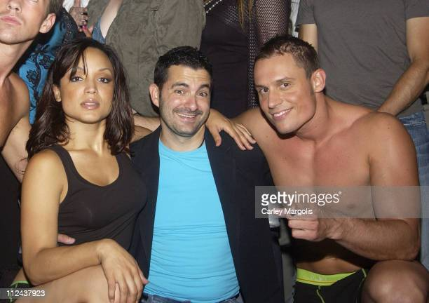 Mayte Garcia Jeff Danzer of Intimo and Keith Collins
