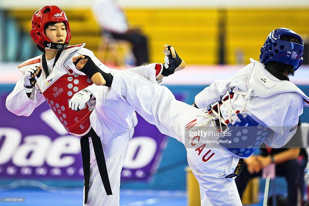 20th Asian Taekwondo Championships - Day 2 : News Photo