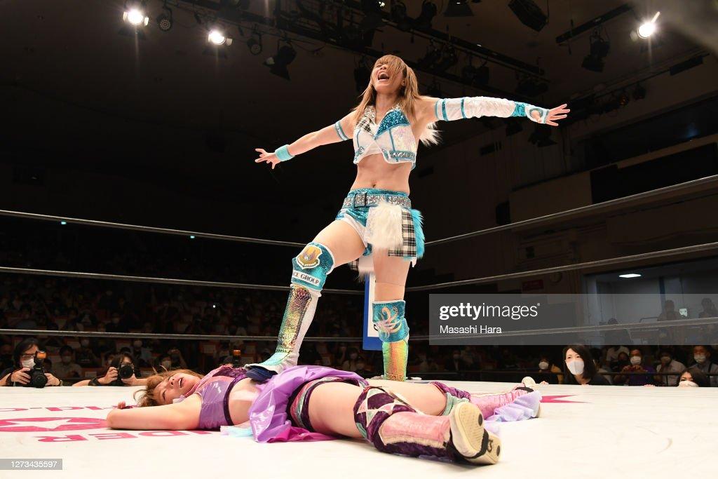 Women's Pro-Wrestling 'Stardom' : News Photo