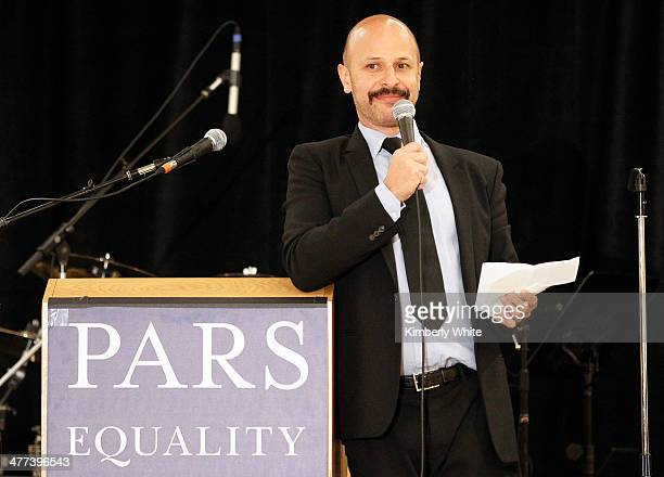 Maz Jobrani hosts the PARS Equality Center 4th Annual Nowruz Gala at Marriott Waterfront Burlingame Hotel on March 8 2014 in Burlingame California