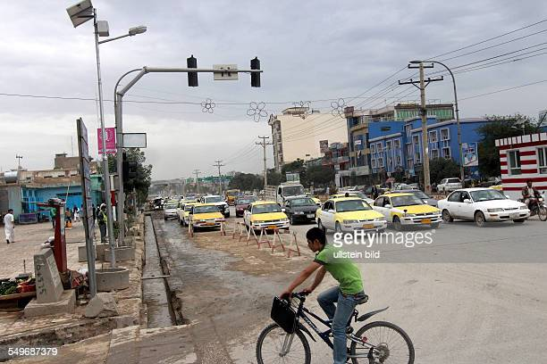Mazar-el-Sharif: street scenery
