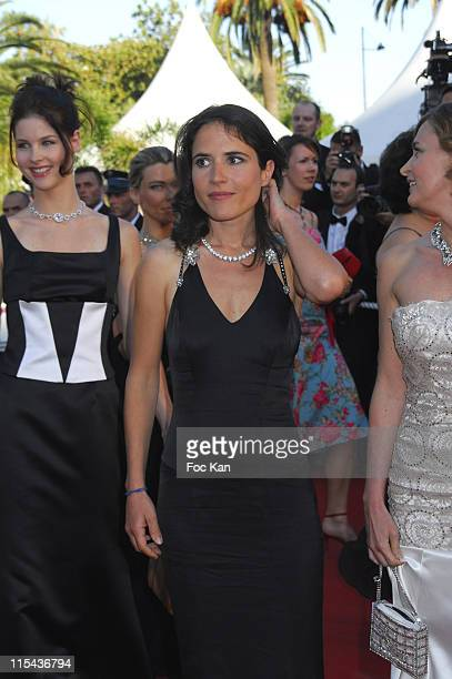 Mazarine Pingeot and Guests during 2006 Cannes Film Festival 'Marie Antoinette' Premiere at Palais des Festival in Cannes France