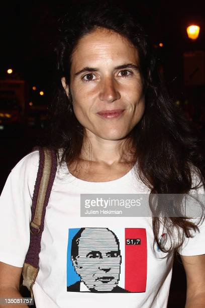 Mazarine Pingeot attends the 30th Anniversary of Francois Mitterrand Election Concert at Place de la Bastille on May 10 2011 in Paris France