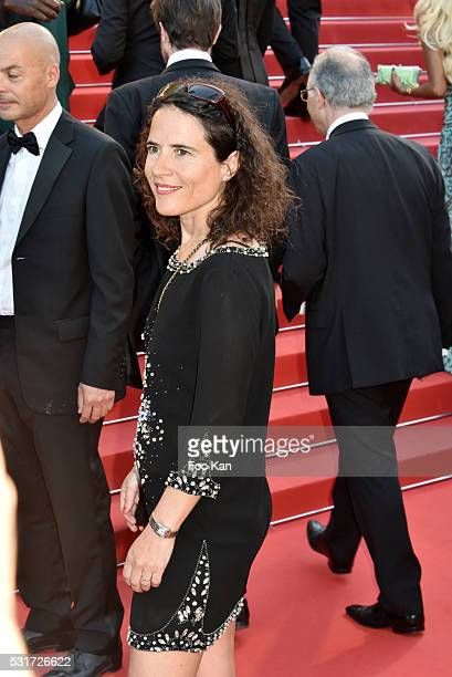 Mazarine Pingeot attends the 'From The Land Of The Moon ' premiere during the 69th annual Cannes Film Festival at the Palais des Festivals on May 15...