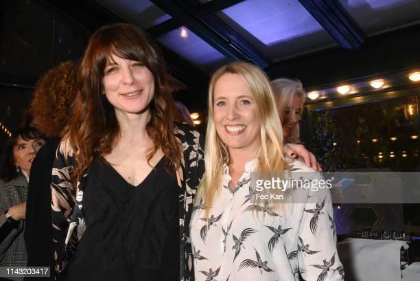 Mazarine Pingeot Jeanne Damas Pauline Lefevre Spensor Champagne 'Closerie des Lilas 2019' awarded writer Sarah Chiche for her book for 'Les...