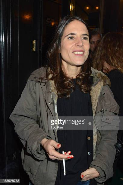 Mazarine Pingeot Mitterrand attends the 'Prix De Flore 2012' Literary Award Ceremony Party at the Cafe de Flore on November 8 2012 in Paris France