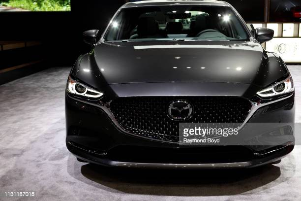 Mazda 6 is on display at the 111th Annual Chicago Auto Show at McCormick Place in Chicago, Illinois on February 8, 2019.