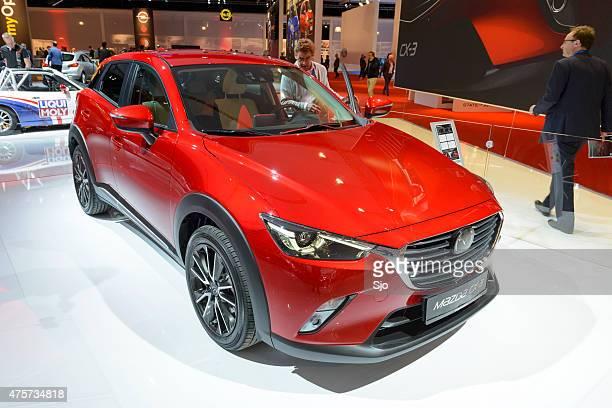 Mazda CX-3 crossover SUV front view