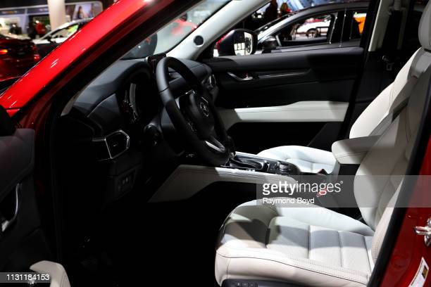 Mazda CX5 is on display at the 111th Annual Chicago Auto Show at McCormick Place in Chicago Illinois on February 8 2019