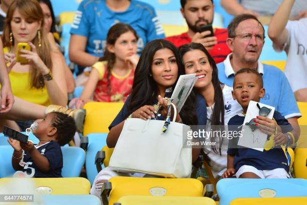 Mazda MAGUI / Ludivine SAGNA / Elias SAGNA France / Equateur Coupe du Monde 2014 Photo Dave Winter / Icon Sport