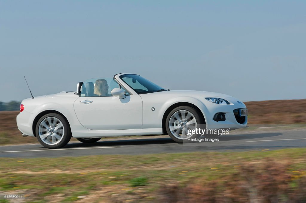 2014 Mazda MX5 Roadster Coupe Pictures | Getty Images