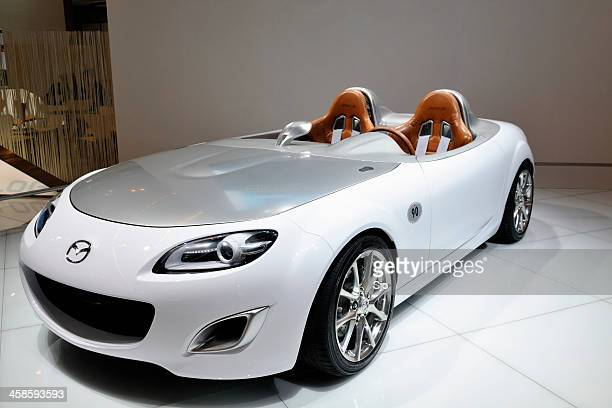 mazda mx-5 superlight concept - mazda mx 5 stock photos and pictures