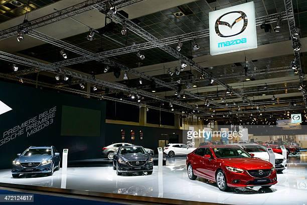Mazda stand