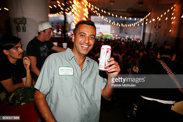 Mazdack Rassi attends 9th Annual Milk Summer BBQ at Milk Studios Loading Dock on July 12 2007 in New York City