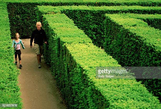 Maze at Schonbrunn Palace