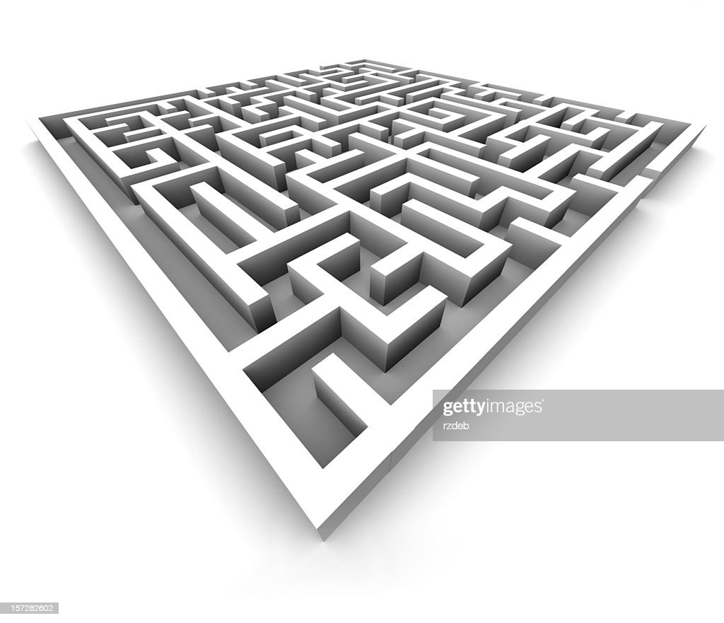 Maze - Labyrinth : Stock Photo