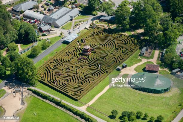 Maze Longleat Wiltshire 2015 Artist Damian Grady