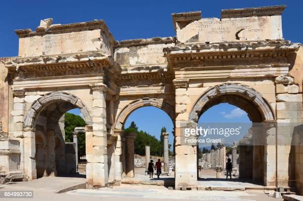 Mazeus and Mithridates Gate to the Agora, Ephesus, Turkey
