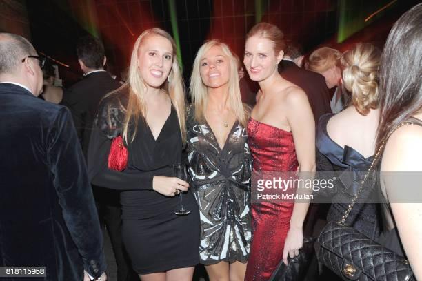 Mazora Hertz Jackie Cooke and Alexandra Marciniak attend Apollo Circle Benefit 2010 Sponsored by Carolina Herrera at The Metropolitan Museum of Art...