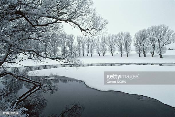 Mazury in Poland in 1980 Region of the lakes of Mazury near Suwalki