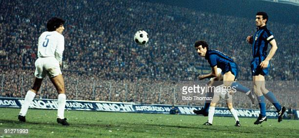 Real Madrid European Cup Semi Final 2nd Leg Stock Pictures