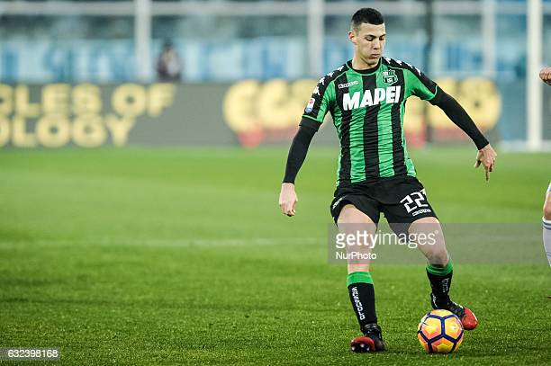 Mazzitelli Luca during the match Pescara vs Sassuolo of sere A TIM in Pescara Italy on 22 January 2017
