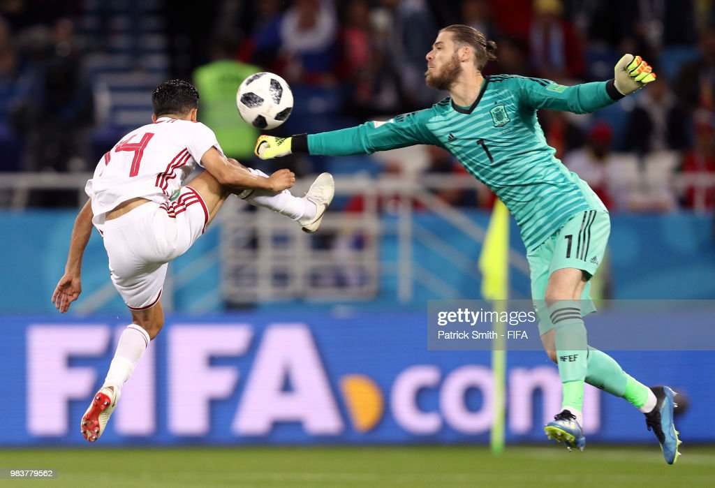 Spain v Morocco: Group B - 2018 FIFA World Cup Russia : News Photo