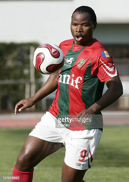 Mbesuma of Maritimo during Maritimo vs Pacos de Ferreira Funchal Portugal in Funchal Portugal