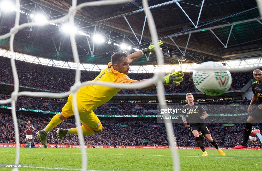 Aston Villa v Manchester City - Carabao Cup Final : News Photo