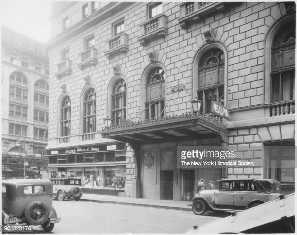 McAlpin Hotel 33rd Street Joseph Hilton Sons New York New York 1929