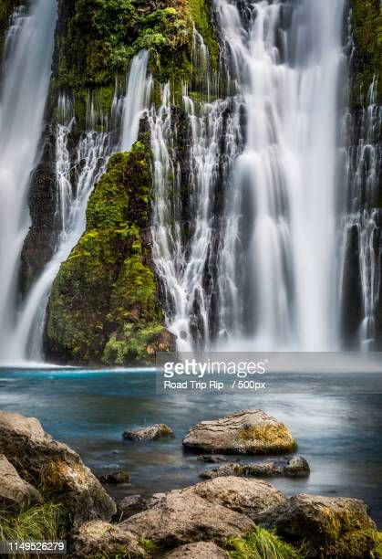 mcarthur-burney falls memorial state park - california - mt shasta stock pictures, royalty-free photos & images